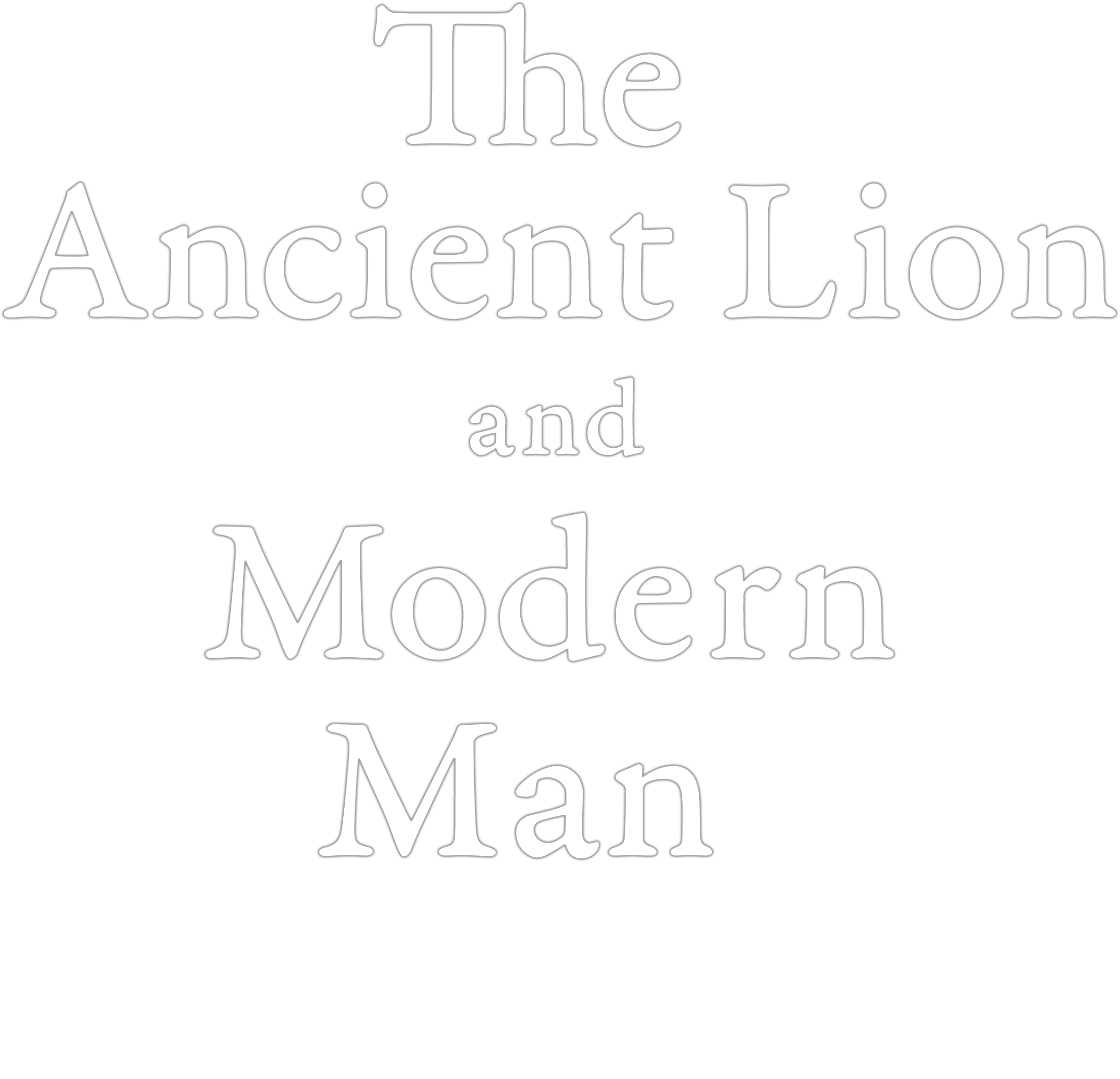 The Ancient Lion and Modern Man: A 21st-Century Folk Performance